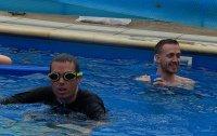 pływanie to jedna z części Thriatlonu
