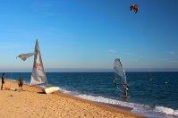 windsurfing, sport, woda